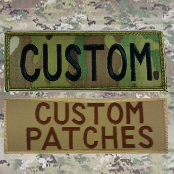 Custom Camo Patches from Name Tape Factory in Wisconsin, Veteran Owned