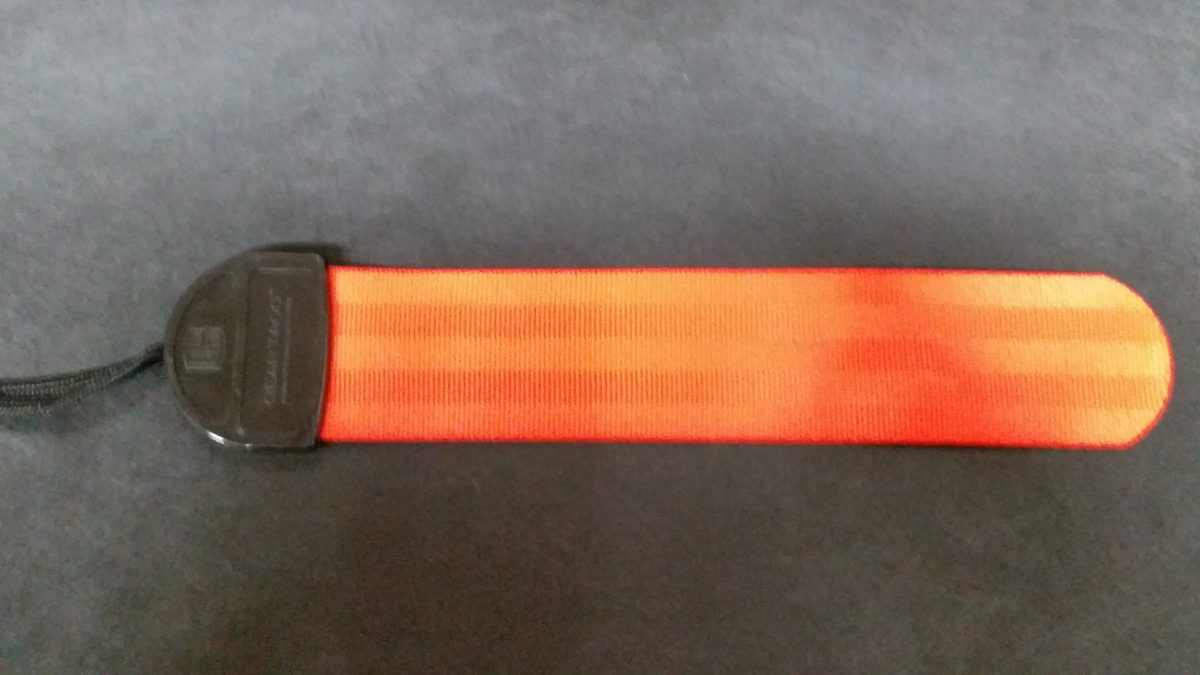 gear tag orange