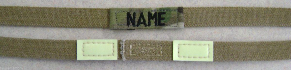 custom helmet band at Name Tape Factory
